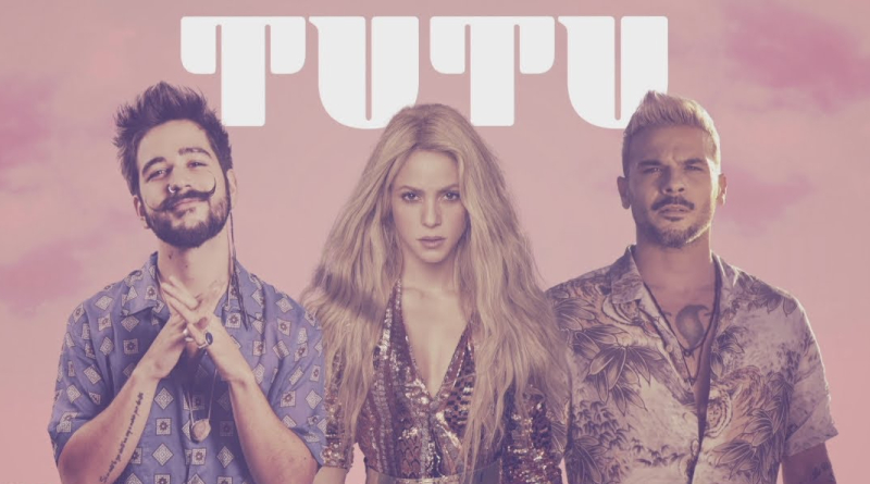 Tutu de Camilo y Pedro Capó ahora tiene remix con Shakira