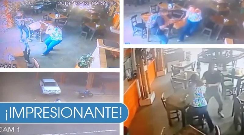 Impresionante robo a mujer al sur de Cali luego de salir de un banco