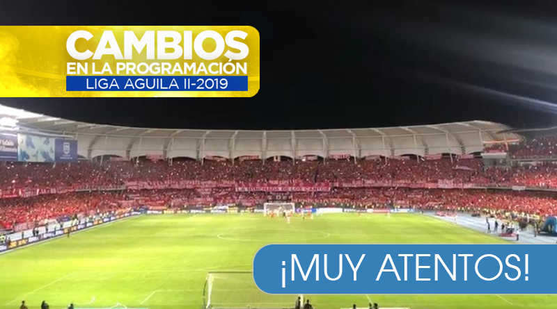 Nueva modificación para la final de la Liga Aguila América vs Junior