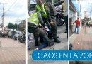 VIDEO – Intento de robo frustrado por la Policía Cali en medio de disparos