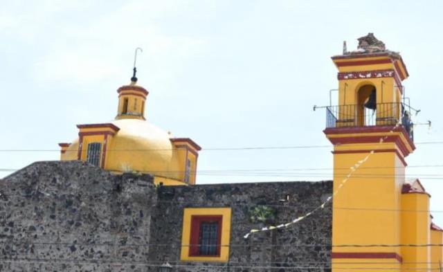 CINCO IGLESIAS DE SAN PEDRO CHOLULA, SIGUEN CERRADAS DEBIDO A LOS DAÑOS QUE SUFRIERON TRAS EL SISMO DEL 19 DE SEPTIEMBRE