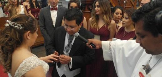 JANETTE CONTRERAS SÁENZ Y CARLOS LEONEL SOSA ORTIZ SE UNIERON EN FELIZ MATRIMONIO