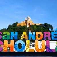 SAN ANDRÉS CHOLULA, PUEBLO MÁGICO, LUGAR FAVORITO PARA LOS VISITANTES NACIONALES Y EXTRANJEROS