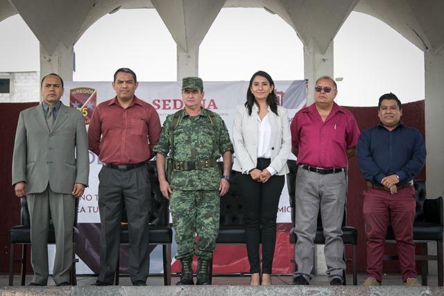 IMPLEMENTA SEDENA CAMPAÑA DE CANJE DE ARMAS EN HUEJOTZINGO
