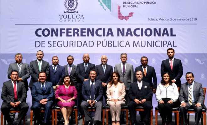 NOMBRAN A CLAUDIA RIVERA COORDINADORA DE LA CONFERENCIA NACIONAL DE SEGURIDAD PÚBLICA MUNICIPAL REGIÓN CENTRO