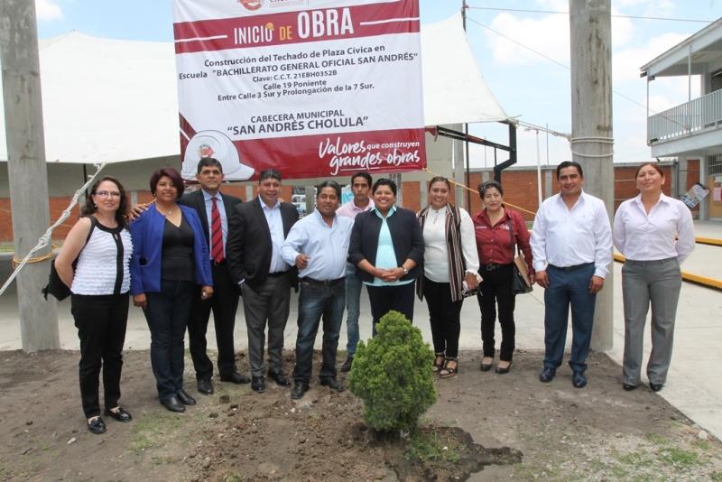 ES NUESTRA OBLIGACIÓN GENERAR CONDICIONES DE BIENESTAR PARA TODOS LO HABITANTES DE SAN ANDRÉS CHOLULA: PÉREZ POPOCA