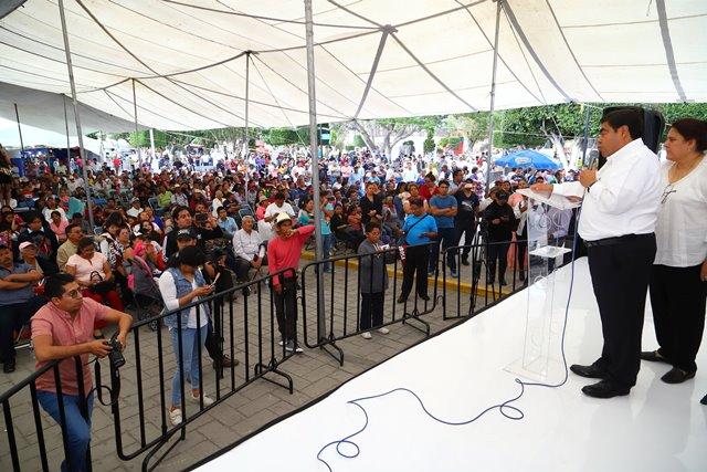 DEVOLVER LA PAZ Y SEGURIDAD, EJE CENTRAL  DEL NUEVO GOBIERNO: MIGUEL BARBOSA HUERTA