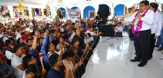 PUEBLA NECESITABA UN GOBERNADOR QUE EMERGIERA DE UN PROCESO AUTÉNTICAMENTE DEMOCRÁTICO: MIGUEL BARBOSA
