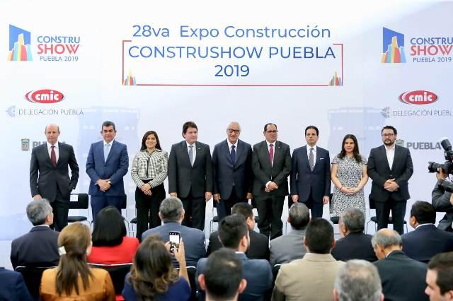 INAUGURA PACHECO PULIDO LA 28va CONSTRUSHOW PUEBLA 2019