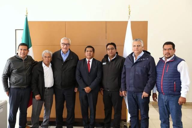 PACHECO PULIDO Y EDILES ACUERDAN FORTALECER DESARROLLO DE LA ZONA DE AUDI