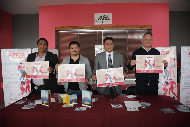 SAN ANDRÉS CHOLULA PRESENTA SEGUNDA EDICIÓN DE BAILANDO POR AMOR