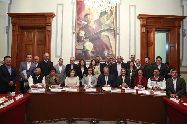AYUNTAMIENTO DE PUEBLA CONSOLIDA TRABAJO EN CONJUNTO CON SECTOR EMPRESARIAL
