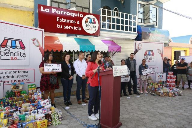 GOBIERNO DE LA CIUDAD DE PUEBLA BENEFICIA COMUNIDADES Y FAMILIAS CON LA PRIMERA ETAPA DEL PROGRAMA MI TIENDITA 3.0