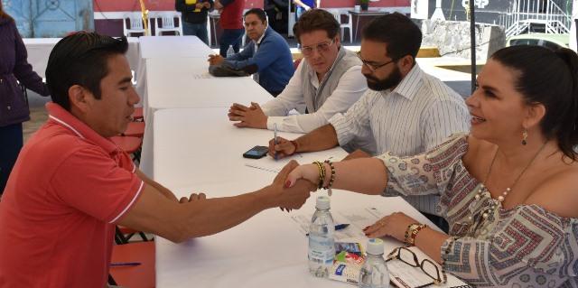PETICIONES DE HABITANTES DE SAN FRANCISCO TEPEYECAC FUERON ATENDIDAS EN EL MIÉRCOLES CIUDADANO