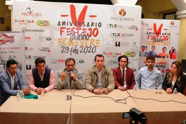 """PRESENTAN EL """"V FESTEJO TAURINO ECUESTRE VAL'QUIRICO"""" A REALIZARSE EL 29 DE FEBRERO"""