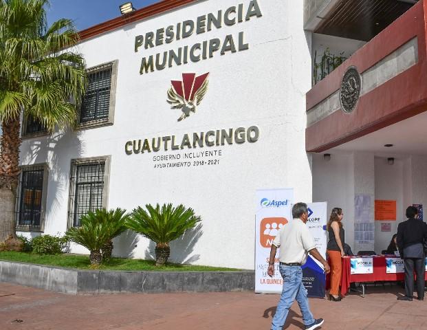ANUNCIA GOBIERNO DE CUAUTLANCINGO FERIA DEL EMPLEO 2021