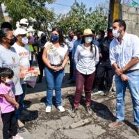 """80 FAMILIAS DE SAN MARTÍN TEXMELUCAN SON BENEFICIARIOS DEL PROGRAMA """"HACER VIVIENDA, HACER FUTURO"""": NORMA LAYÓN"""