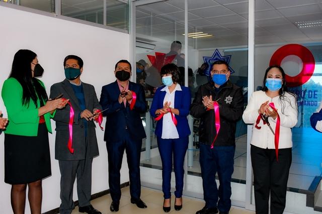 ENTREGA LUPITA DANIEL, EL CENTRO DE CONTROL Y COMANDO C2, PARA REFORZAR LA SEGURIDAD EN CUAUTLANCINGO
