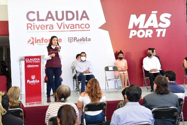 """""""QUE NINGUNA LOCALIDAD VUELVA A QUEDAR EN EL REZAGO"""": CLAUDIA RIVERA VIVANCO"""