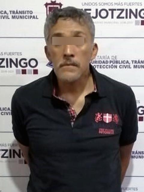 DETIENE POLICÍA MUNICIPAL DE HUEJOTZINGO A PRESUNTO NARCOMENUDISTA EN SAN LUIS COYOTZINGO