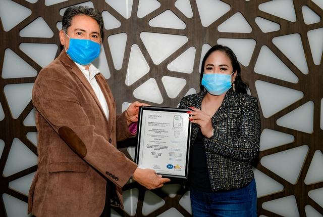 OBTIENE LA DIRECCIÓN DE REGISTRO CIVIL DE CUAUTLANCINGO, CERTIFICACIÓN ISO 9001