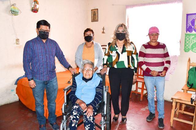 CON TRABAJO CONMEMORA CORONANGO EL DÍA INTERNACIONAL DE LAS PERSONAS CON DISCAPACIDAD