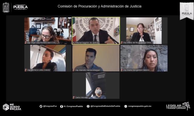 PODER JUDICIAL DE PUEBLA SE MODERNIZA Y FORTALECE PARA GARANTIZAR LA IMPARTICIÓN DE JUSTICIA DURANTE LA CONTINGENCIA SANITARIA
