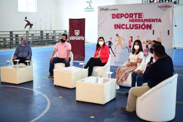 AYUNTAMIENTO PUEBLA PROPICIA ESPACIO DE DIÁLOGO EN TORNO A LAS PERSONAS CON DIVERSIDAD FUNCIONAL