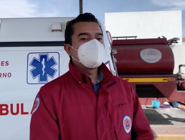 PROTECCIÓN CIVIL SACH BRINDA APOYOS DE TANQUES DE OXÍGENO A PACIENTES COVID