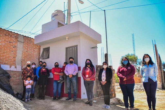CONCLUYE EDIL DE CORONANGO ENTREGA DE 68 BAÑOS DEL PROGRAMA DIGNIFICANDO HOGARES