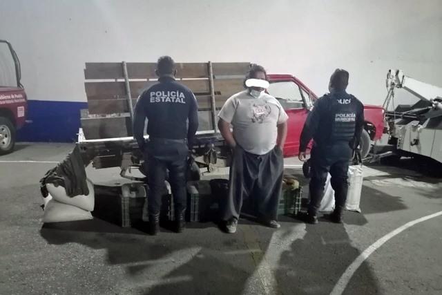 DETUVO POLICÍA DE CORONANGO A SUJETO POR TRANSPORTAR HIDROCARBURO DE MANERA ILÍCITA
