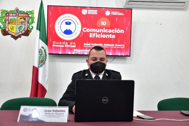 SEGURIDAD PÚBLICA DE SAN MARTÍN TEXMELUCAN REFUERZA ATENCIÓN A REPORTES POR VIOLENCIA DE GÉNERO