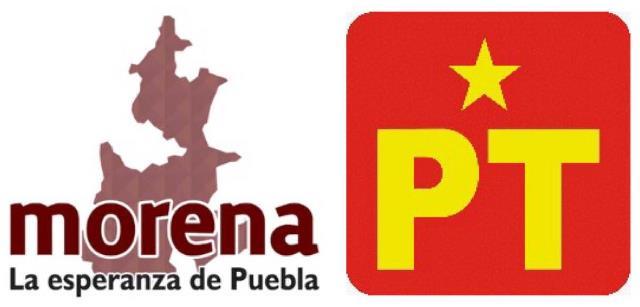 """SE CONFIRMA LA ALIANZA """"JUNTOS HAREMOS HISTORIA EN PUEBLA"""" CONFORMADA POR MORENA Y PT; OFICIALIZAN ACUERDO ANTE AUTORIDADES ELECTORALES"""
