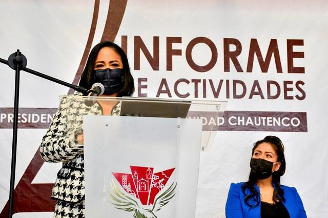 LUPITA DANIEL, ASEGURA TRABAJO EN UNIDAD CON LAS JUNTAS AUXILIARES