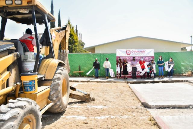 INICIA EDIL DE CORONANGO OBRAS EDUCATIVAS EN ESCUELAS DE MISIONES DE SAN FRANCISCO
