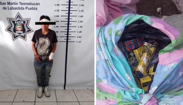 POLICÍA DE TEXMELUCAN DA RESULTADOS EN LA LUCHA CONTRA LA DELINCUENCIA