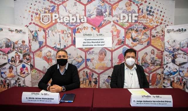 SMDIF PUEBLA CONMEMORA EL DÍA INTERNACIONAL DEL SÍNDROME DE DOWN