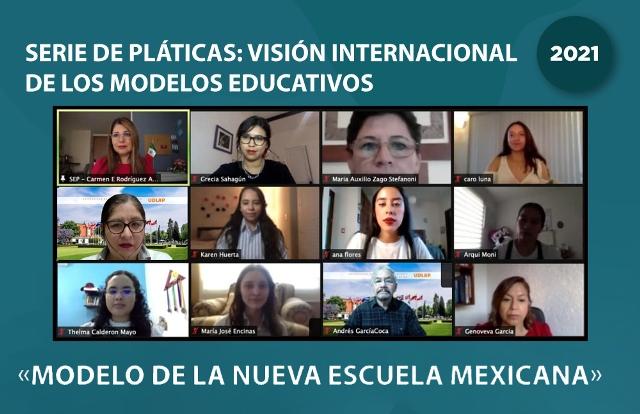 UDLAP REALIZA ENCUENTRO ACADÉMICO VIRTUAL: VISIÓN INTERNACIONAL DE LOS MODELOS EDUCATIVOS