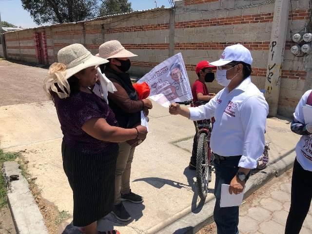 DAREMOS CONTINUIDAD AL CAMBIO VERDADERO EN CORONANGO: TOÑO TEUTLI