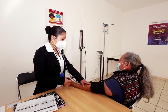 ATIENDEN 5 MIL 645 PACIENTES EN CENTROS DE DESARROLLO COMUNITARIO DE PUEBLA CAPITAL