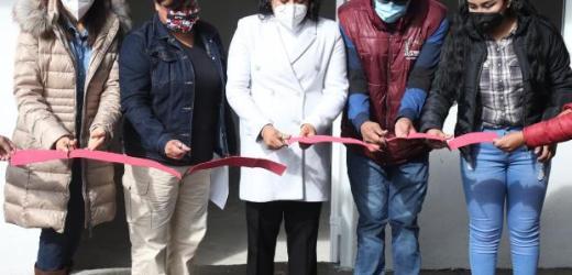 FINALIZA KARINA PÉREZ POPOCA SEMANA DE ENTREGA DE OBRAS EN SAN FRANCISCO ACATEPEC