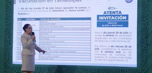 TOTALIDAD DE MAYORES DE 18 AÑOS ESTARÁN VACUNADOS EN LA FRONTERA NORTE ESTE FIN DE SEMANA