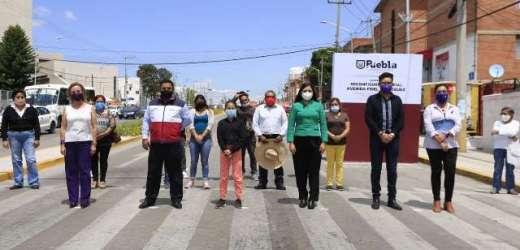 AYUNTAMIENTO DE PUEBLA INVIERTE A FAVOR DE LA SEGURIDAD VIAL EN LA MARGARITA