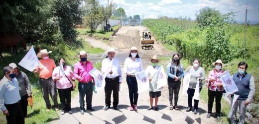 ANGÉLICA ALVARADO HACE REALIDAD LA CONSTRUCCIÓN DE PUENTE VEHICULAR EN SAN MIGUEL TIANGUIZOLCO