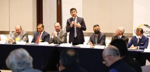 EDUARDO RIVERA PRESENTA A FELIPE MOJARRO PARA IMPULSAR REACTIVACIÓN DE VIVIENDA