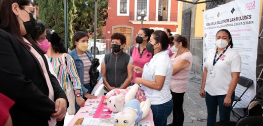 AGRADECEN POBLANAS A GOBIERNO DEL ESTADO POR ACERCAR SERVICIOS MÉDICOS