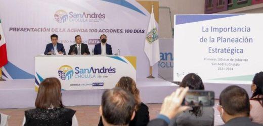 PRESENTA MUNDO TLATEHUI AGENDA DE LOS 100 DÍAS DE LA ADMINISTRACIÓN 2021-2024