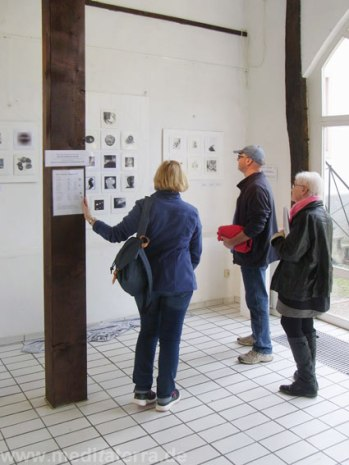 Enter into Art events in Diez, Germany - miniprint, mixed media