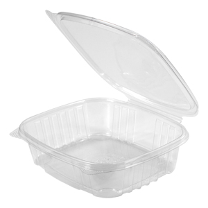 Clear Hinged Take-Out Container, AD24 – 50/CASE