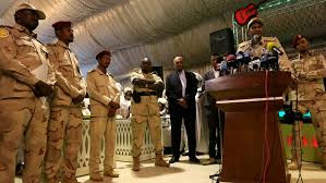 SUDAN'S MILITARY LEADER HAPPY WITH POWER SHARING DEAL